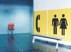 Wayfinding & signage | Cartlidge Levene #toilets #cartlidge #levene #wayfinding #point #millennium
