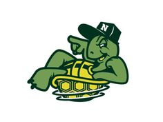 Nufsed #toon #mascot #fresh #yellow #dance #crew #spin #break #street #rad #cartoon #turtle #green