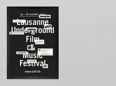 Notter + Vigne #notter+vigne #print #black #typography