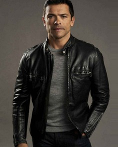 Riverdale Season 2 Mark Consuelos Leather Jacket