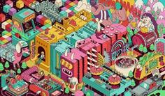 Outstanding murals by Dave Arcade - Masterpicks - Design Inspiration