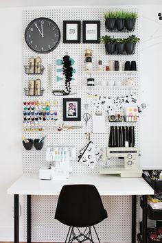 Fabric Paper Glue: Workspace Upgrades