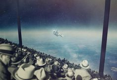 Surreal Illustrtions by Joseba Elorza #arts #illustrations #inspirations