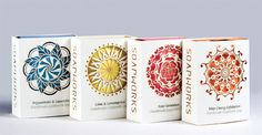 Soapworks Package Design on Behance #mandala #soap #cutting #soapworks #paper #package