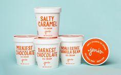 New Packaging for Jeni's Splendid Ice Cream done In-house