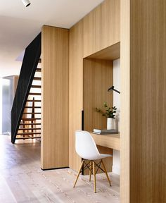 Melbourne House Created by Inglis Architects - work space