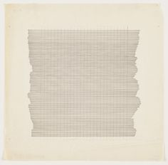 Agnes Martin. Untitled. 1960 #agnes #martin #minimal #painting