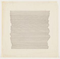 Agnes Martin. Untitled. 1960