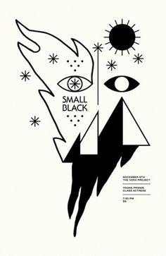 Small Black by smallhorsestudio on Etsy #illustration #design #graphic