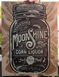 Typeverything.com Moonshine Corn Liquor by... Typeverything #typo