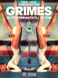 GRIMES Leif Podhajsky #music #leif #art #podhajsky
