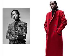 Rapper A$AP Rocky fronts Dior Homme's fall-winter 2016 campaign #DiorHomme #asaprocky