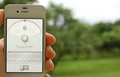 WTHR™ - A Simpler, More Beautiful Weather App #iphone #app #weather #wthr