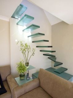 Amazing Glass Staircase #stairs #architecture