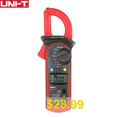 UNI-T #UT202A #600A #Ditgital #Current #Clamp #Meters #Diagnostic #Tool #NCV #Test #DC #AC #Multimeter