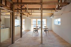 House Between Pillars by Camp Design Inc