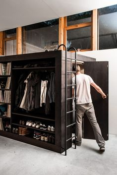 Epic Closet Space : The Living Cube #interior #design #decor #compact #living #deco #decoration
