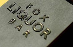 Joshua Gajownik — Design + Direction #gajownik #fox #joshua #liquor #bar