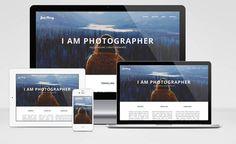 I am photographer – Responsive Portfolio theme