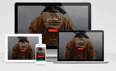 Spectral : Free Responsive MultiPurpose HTML5 template