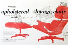 Creative Review The Graphic Design of the Eames Office #graphic design #chair #lounge