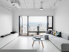 Living room. Tsai Residence by Tai & Architectural Design. #livingroom #taiandarchitecturaldesign #minimalist