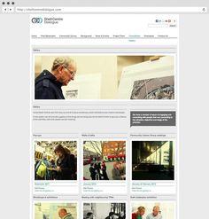 rShell Centre Dialogue. Website. #logo design #identity design #website design #brochure design #3 #fish #in #a #tree #logo design london #g