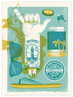 design work life » Two Arms: Northside Posters #illustration #poster