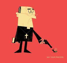 FFFFOUND! | adrian johnson ltd > artwork #prayers #say #adrian #your #johnson