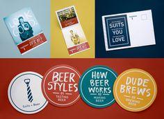 Suits + Beer