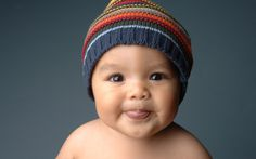 Cute Baby Portrait
