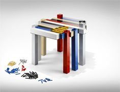 The Lego Histogram 2.0, by Nucleo #product #design #lego