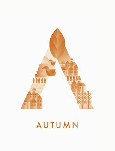 #autumn #typography #illustration #season