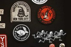 Doubleday & Cartwright #design #patches #typography