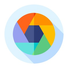 See more icon inspiration related to shutter, art and design, ui, shapes and symbols, camera shutter, electronics, photography, camera and technology on Flaticon.