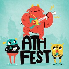 AthFest artwork, by Lauren Gregg #design #illustration #concept #art #character