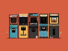 Arcade, DKNG, 5-color print