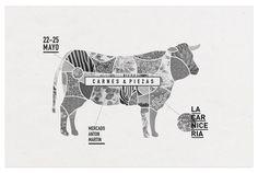 la-carniceriasegundaedicion #poster #design #cow