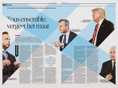 Graphic: Timon Mattelaer Art Direction: Arne Depuydt Assistent Art Direction: Freek De Groote/Joris Van Aken © DeMorgen