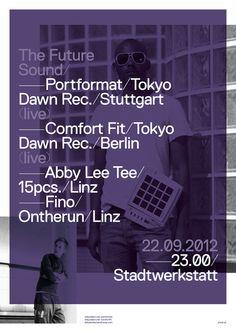 Woifi Ortner — Graphic Designer, Linz/Austria #type #replica #poster