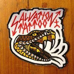 Salvation Tattoo Snake patch #patch