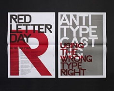 Typographic Revolt by Ryan Atkinson – Inspiration Grid | Design Inspiration