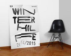 WINTERHILFE EXHIBITION POSTER by orfeo lanz