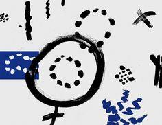 MagSpreads - Magazine Design and Editorial Inspiration: Post News - Newspaper #blue #black #pattern #magazine