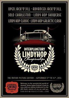 #poster #vintage #retro #lindy hop #swing #micheletenaglia
