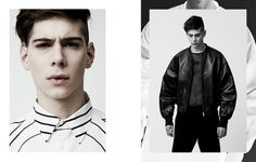 High Contrast Editorial SSENSE #direction #art