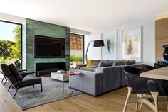 Afro-Zen Meets Contemporary Chic in this Three Bedroom Apartment - InteriorZine #architecture #house #home #decor #interior