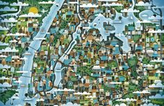 NY Map Illustrations by KHUAN+KTRON