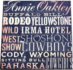 WP Wild WestTypography