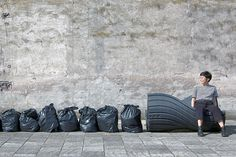 """Project Turns Waste Into Benches - IPPINKA Plastic waste is a growing problem globally, but a Rotterdam-based company, The New Raw, has developed the XXX Bench as a solution. The bench stems from the """"Print Your City!"""" initiative, which uses 3D printing technology. The company turns plastic waste into an outdoor bench for citizens of Amsterdam to enjoy!"""